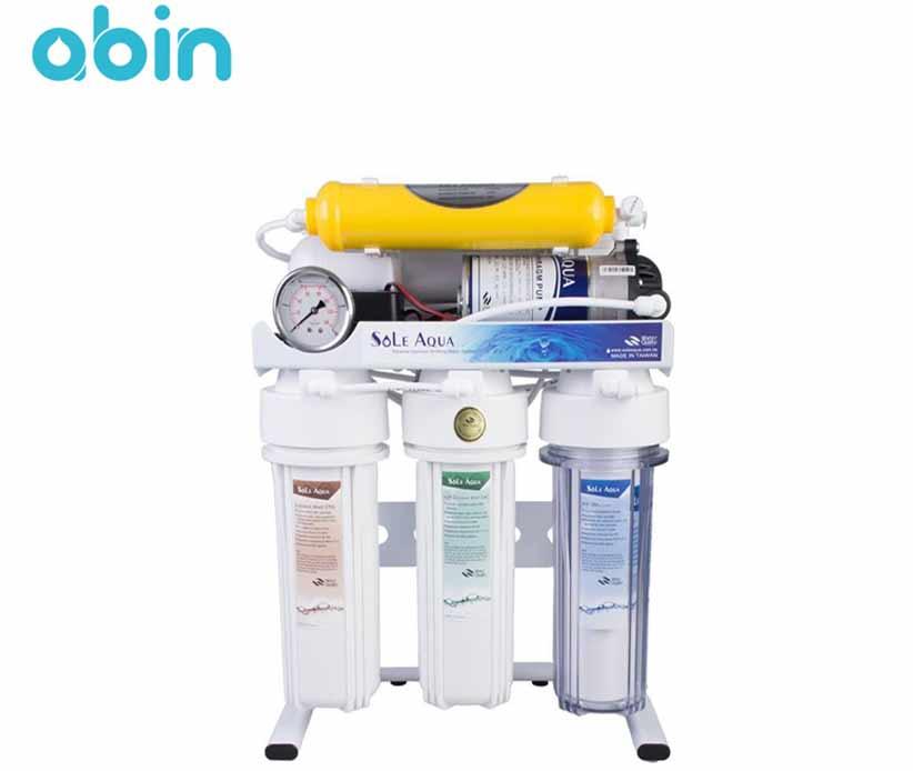 دستگاه تصفیه آب خانگی 6 مرحله ای سول آکوا sole aqua