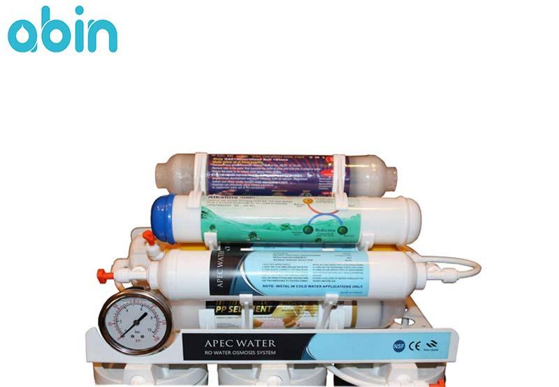 فیلترهای بخش فراوری دستگاه تصفیه آب اپک واتر مدل AP 900