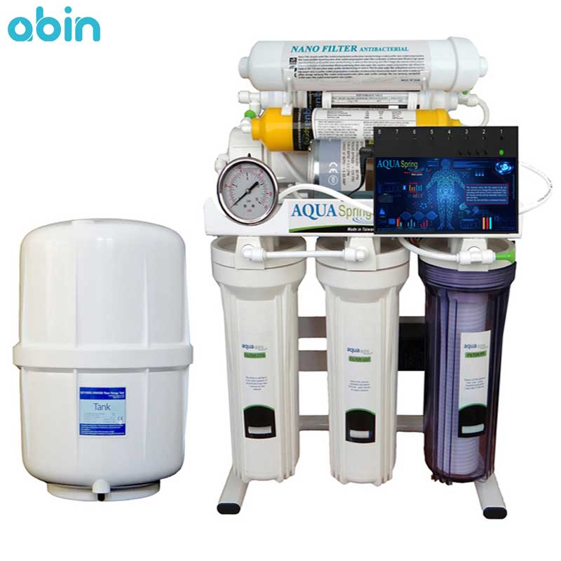 دستگاه تصفیه آب آکوآاسپرینگ مدل RO-ARTIFICAL-INTIFICIAL- SN2050