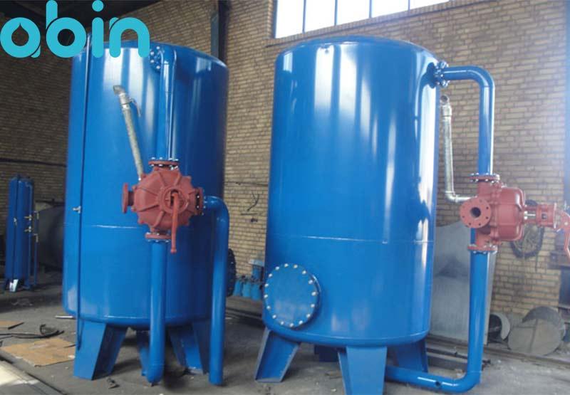 دستگاه سختی گیر رزینی ظرفیت 150 کیلو گرین