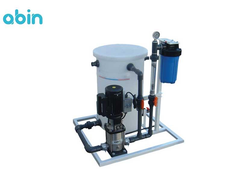 سیستم شستشو در محل دستگاه های آب شیرین کن دریایی
