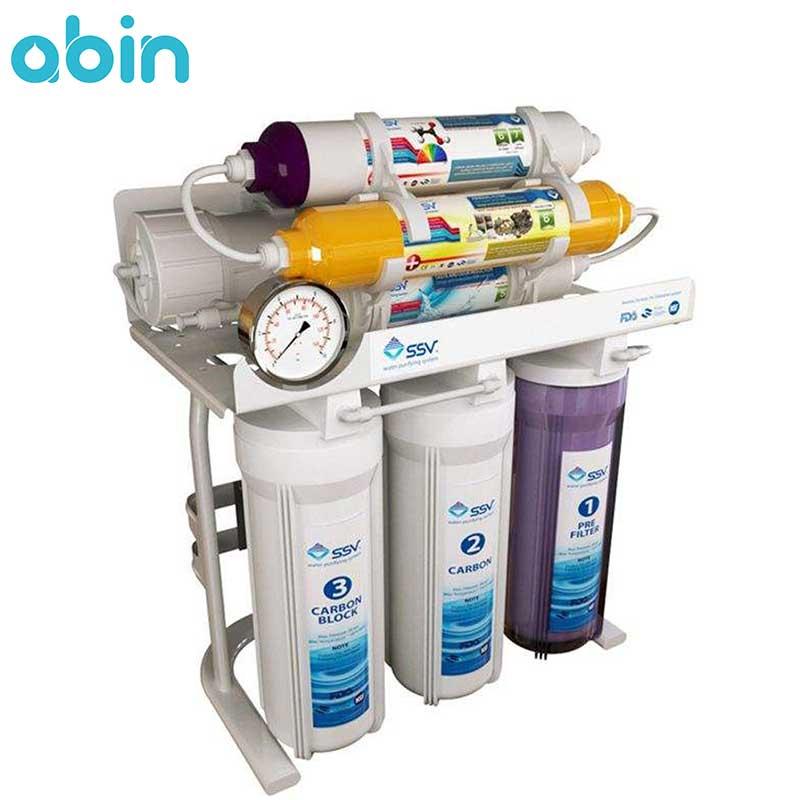 دستگاه تصفیه آب 7 مرحله ای ssv