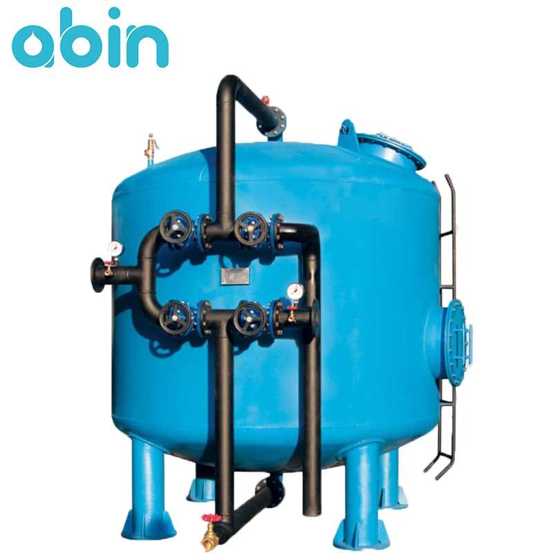 فیلتر شنی دستگاه تصفیه آب صنعتی