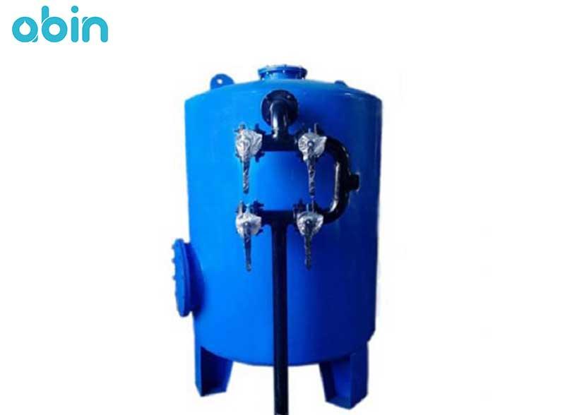 فیلتر شنی فلزی ظرفیت 1.3 متر مکعی در ساعت
