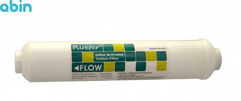 فیلتر پست کربن پیوریفر مدل K0202-WH(AT)