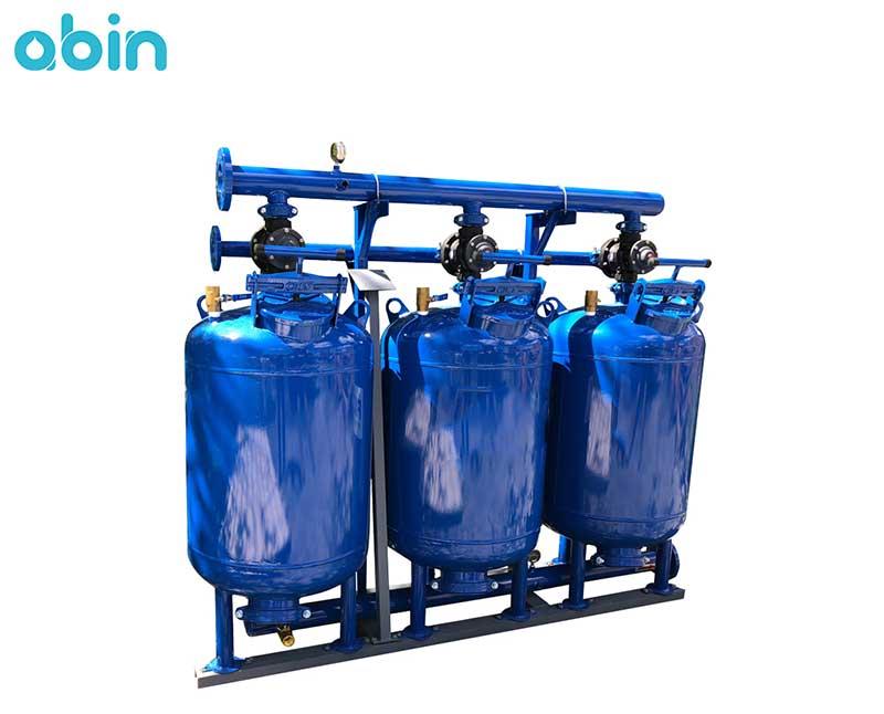 مخزن فیلتر شنی تصفیه آب صنعتی