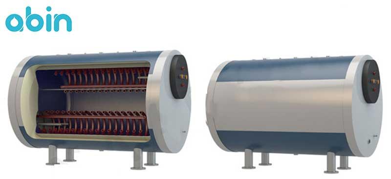 منبع کویل دار افقی آب گرم رخشاب با ضخامت 4 میلی متر