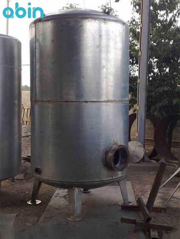 منبع کویل دار ایستاده آب گرم رخشاب 1200 لیتری