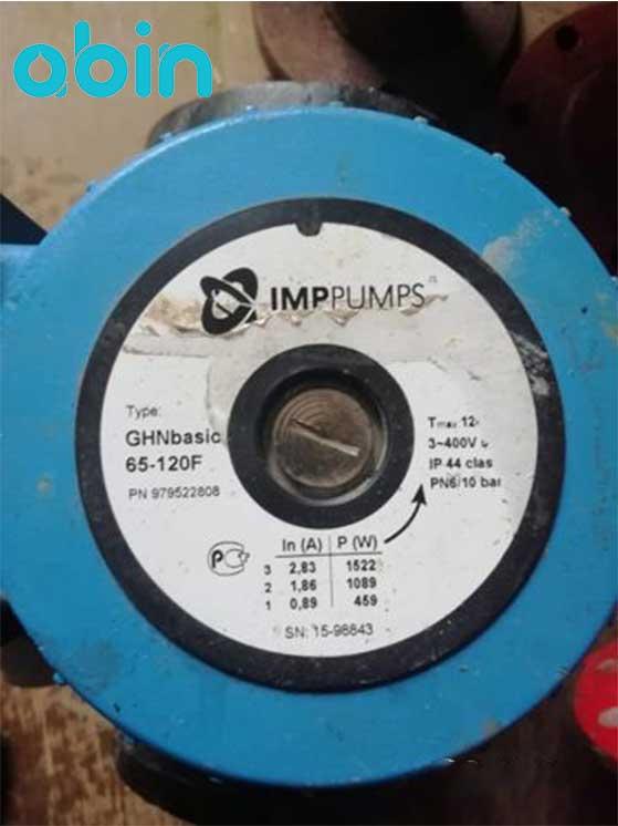 پمپ سیرکولاتور خطی IMP مدل GHNbasic ii 65-120F