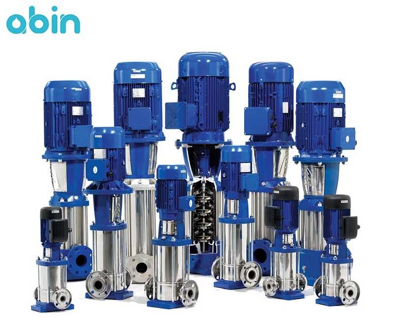 پمپ طبقاتی فشار قوی تصفیه آب صنعتی