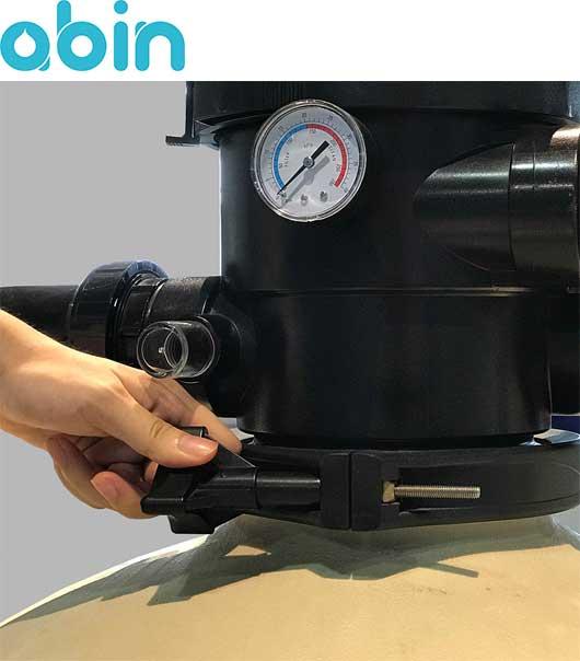کلمپ یک تکه شیر فیلتر شنی