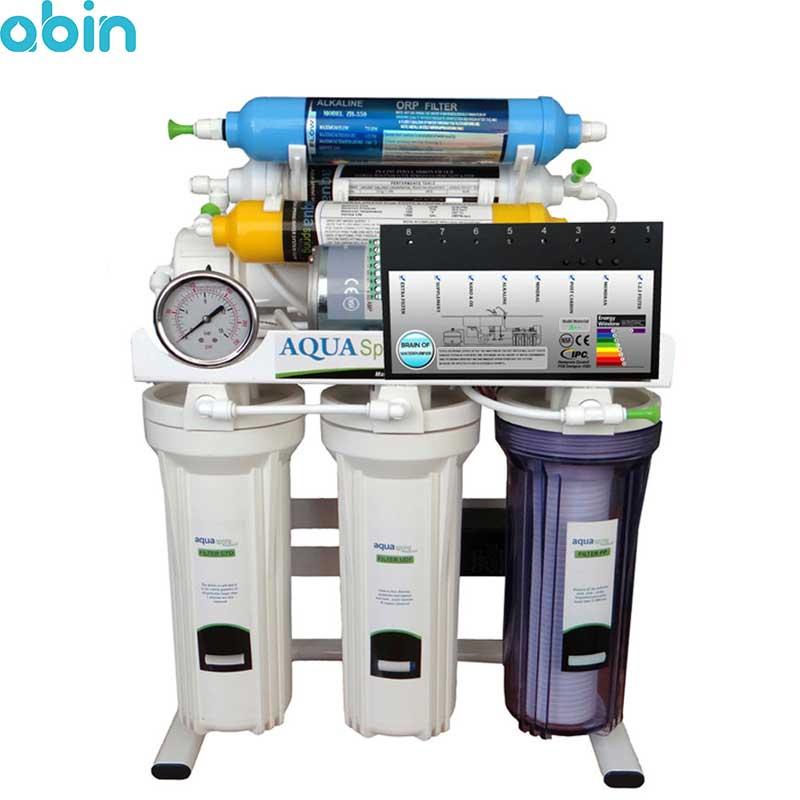 دستگاه تصفیه آب خانگی آکوا اسپرینگ مدل RO-BRAIN-S151