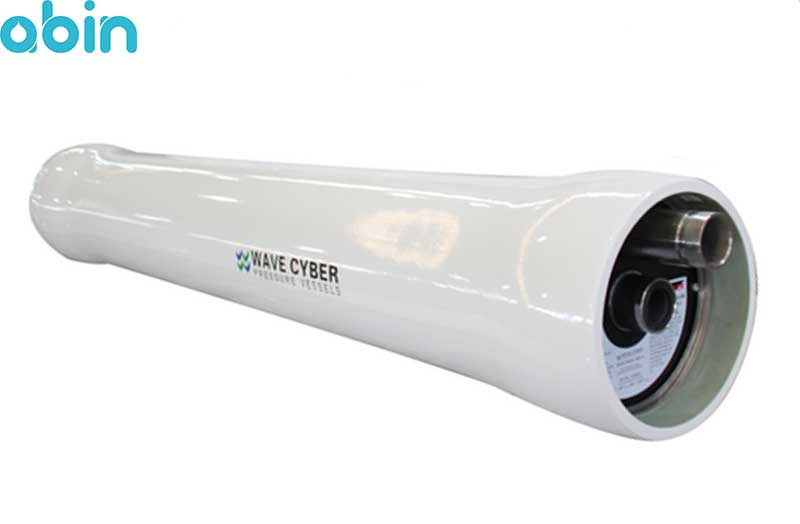 پرشروسل 8 اینچ سه المانه اند پورت ویو سایبر (wave cyber) 300 psi