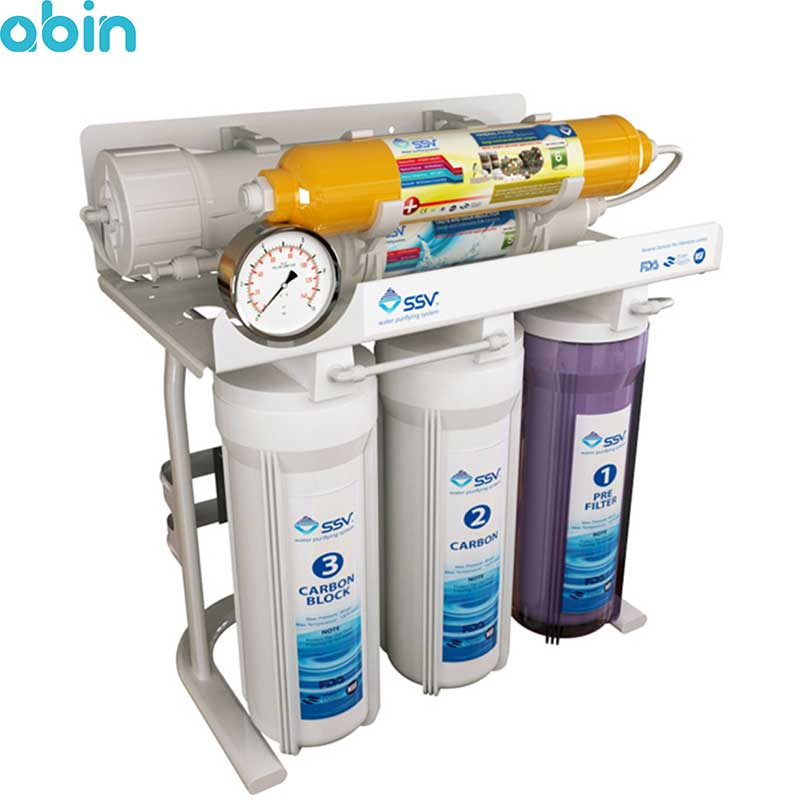 دستگاه تصفیه آب خانگی اس اس وی مدل � maxtec X600