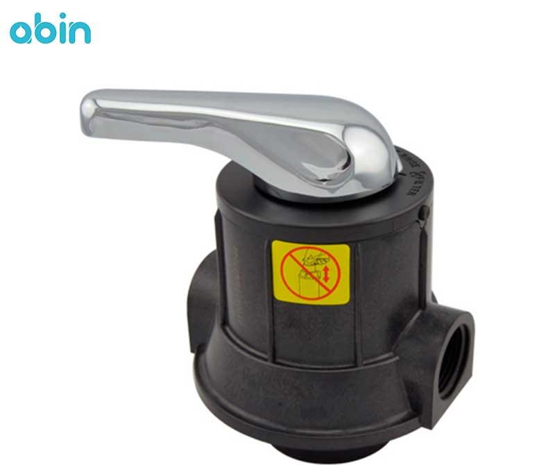 شیر دستی فیلتر FRP رانکسین (RUNXIN) سایز 1 اینچ مدل F56F2