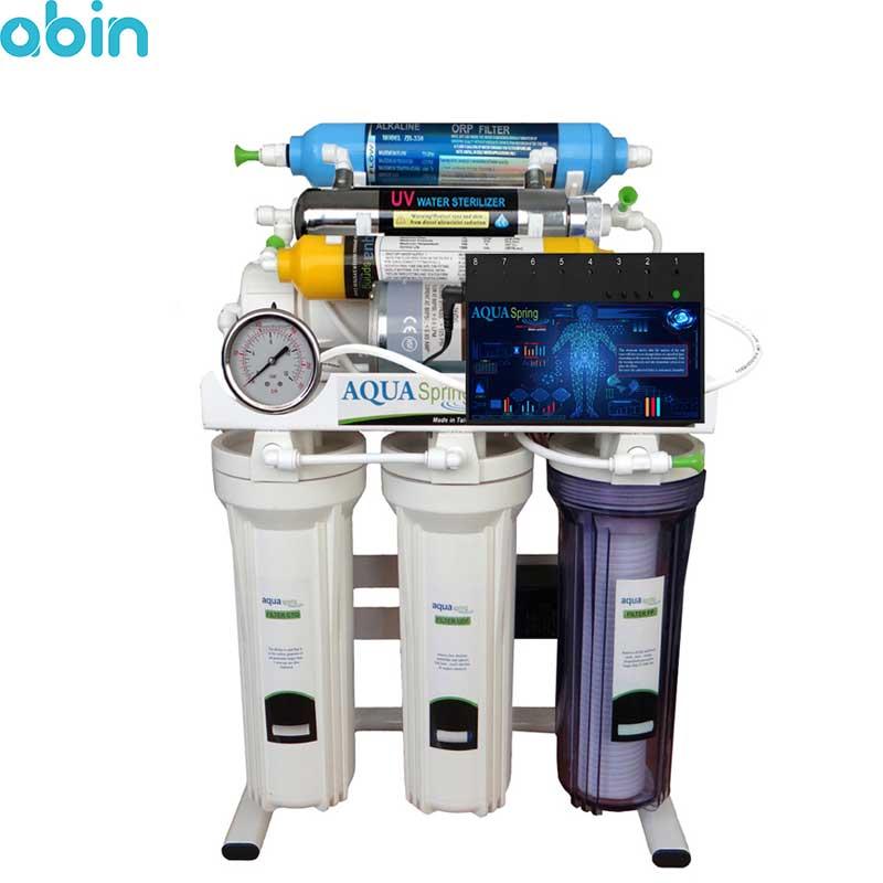 دستگاه تصفیه آب خانگی آکوآ اسپرینگ مدل RO-ARTIFICAL-INTIFICIAL- S200