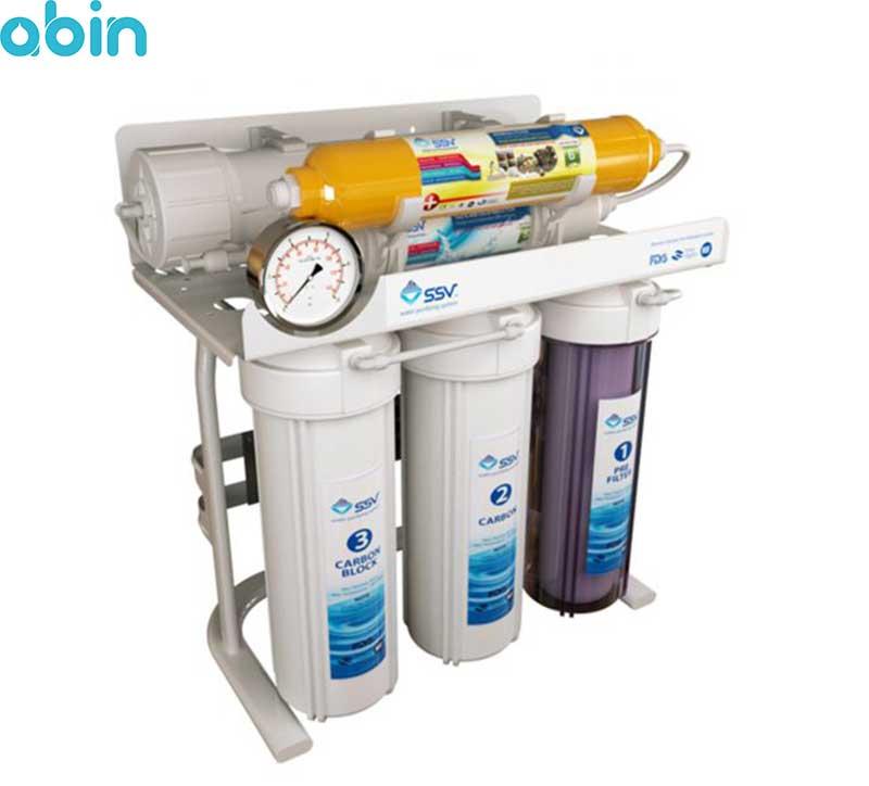 دستگاه تصفیه آب خانگی اس اس وی (SSV) مدل SuperTec X600