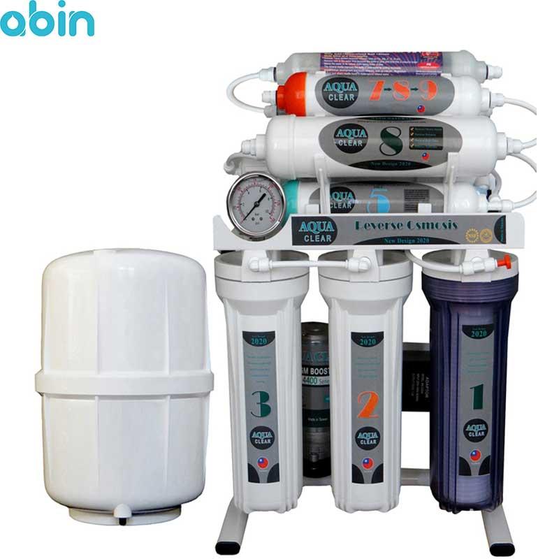 دستگاه تصفیه آب خانگی آکوا کلیر مدل ALN10 به همراه فیلتر 4 عددی
