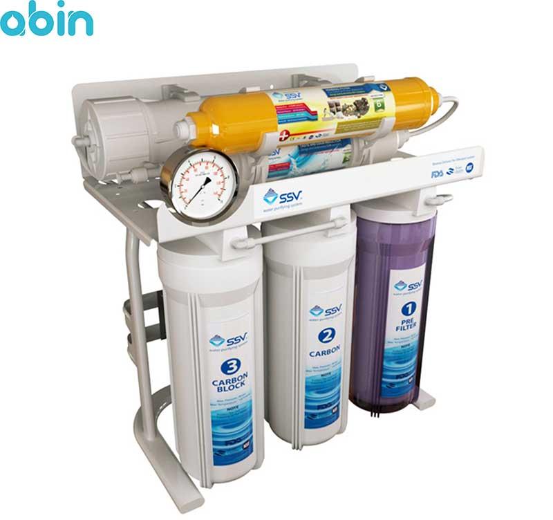 دستگاه تصفیه آب خانگی اس اس وی مدل MaxTec X600