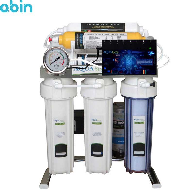دستگاه تصفیه آب خانگی آکوآ اسپرینگ مدل CHROME-BA7
