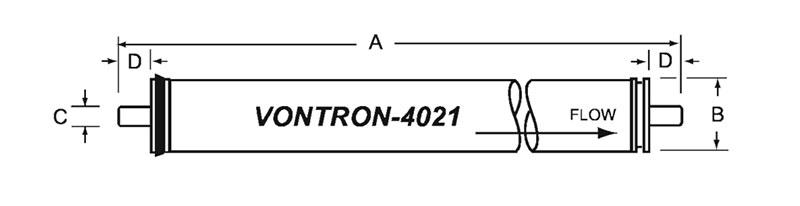 فیلتر ممبران 4 اینچ ونترون مدل ULP11-4021