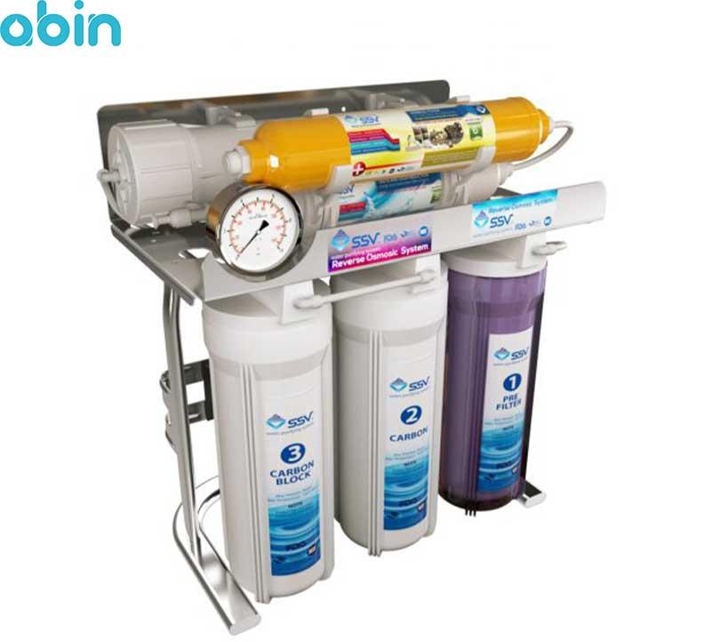 دستگاه تصفیه آب خانگی اس اس وی مدل MaxSpring X600