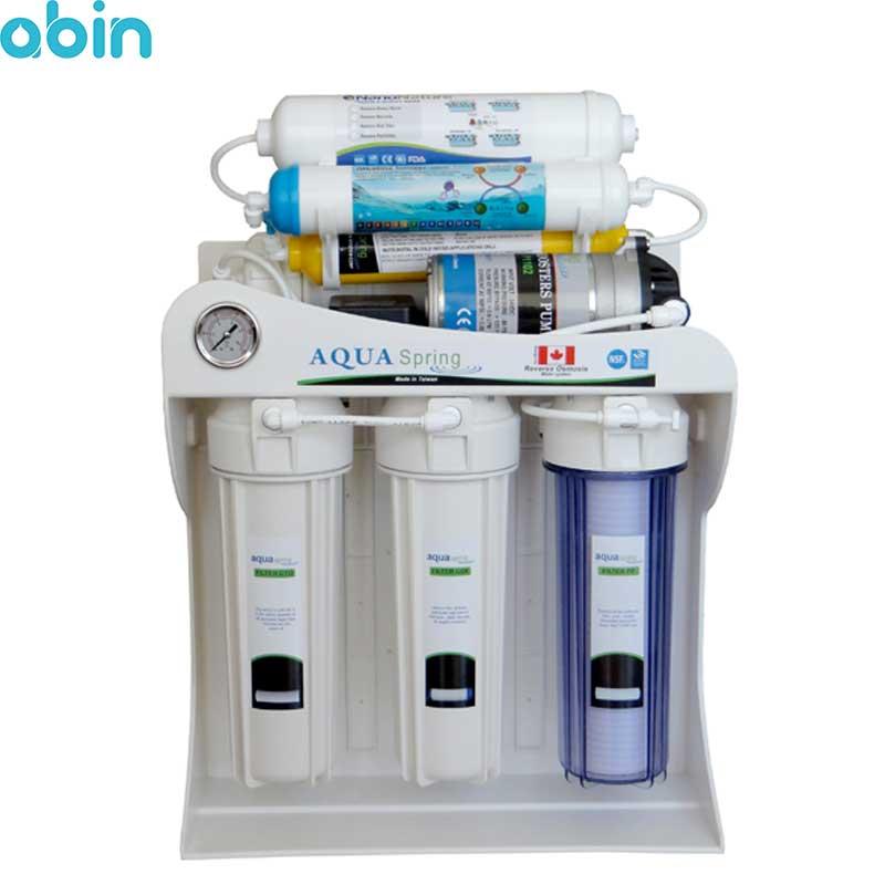 دستگاه تصفیه آب خانگی آکوآ اسپرینگ مدل AQ-SF2400