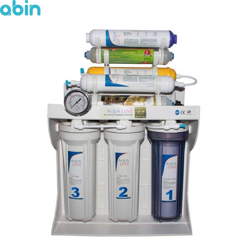دستگاه تصفیه آب خانگی آکوا لاین مدل RO-LINE 900 FIBER- PLUS