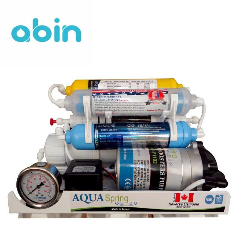 دستگاه تصفیه آب خانگی 8 مرحله ای آکوا اسپرینگ مدل RO - S157