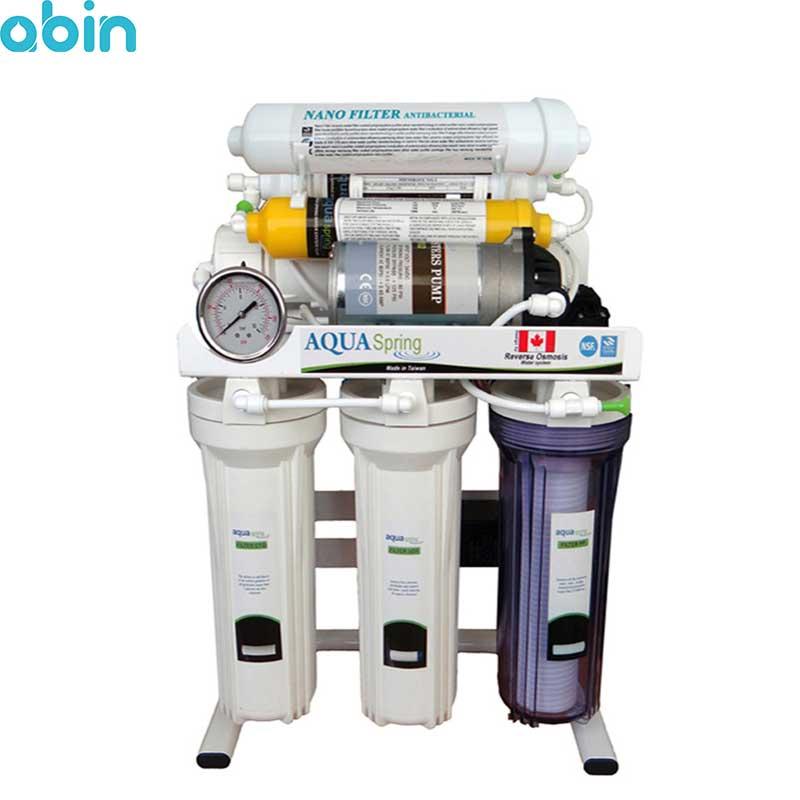دستگاه تصفیه آب خانگی آکوآ اسپرینگ مدل RO-SN2050