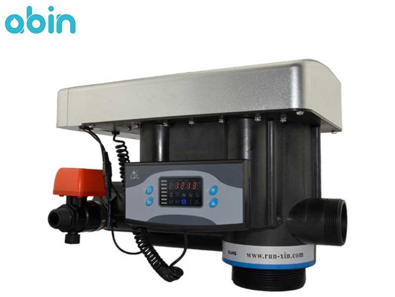 شیر اتوماتیک زمانی فیلتر FRP رانکسین (RUNXIN) سایز 2 اینچ مدل F77B2
