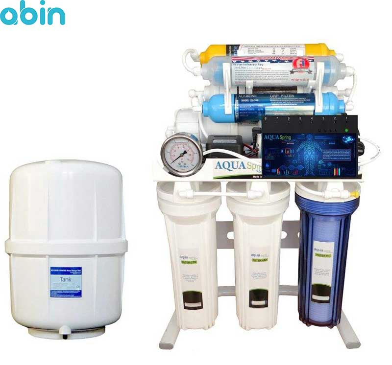دستگاه تصفیه آب خانگی آکوآ اسپرینگ مدل RO-ARTIFICAL-INTIFICIAL- S157