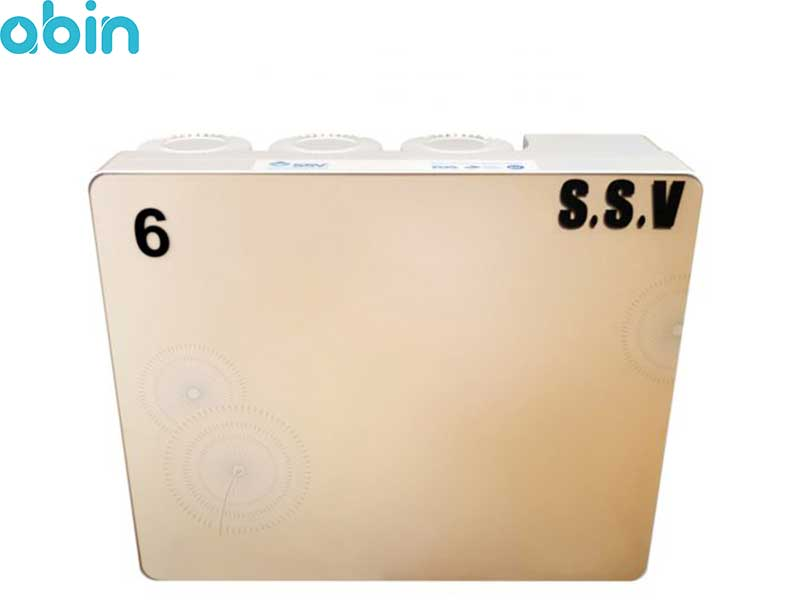 دستگاه تصفیه آب خانگی اس اس وی (SSV) مدل Aramis X 630