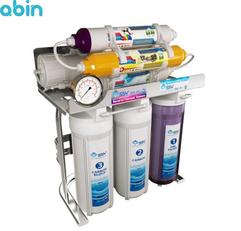 دستگاه تصفیه آب خانگی اس اس وی مدل MaxSpring X700