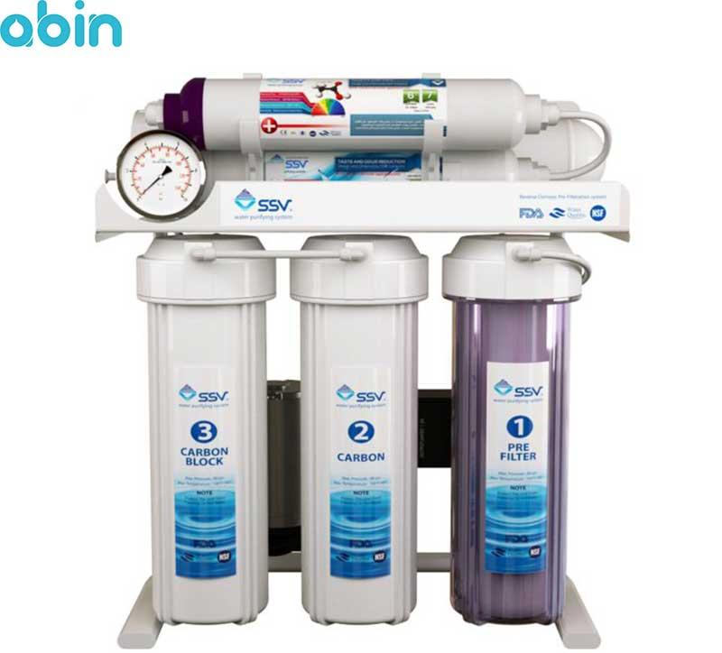 دستگاه تصفیه آب خانگی اس اس وی (SSV) مدل SuperTec X630