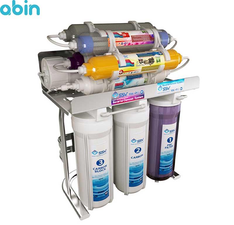 دستگاه تصفیه آب خانگی اس اس وی (SSV) مدل MaxClear X900