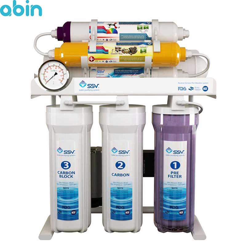 دستگاه تصفیه آب خانگی اس اس وی مدل MaxTec X700