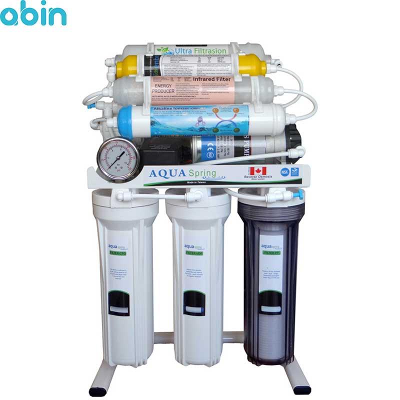 دستگاه تصفیه آب خانگی آکوآ اسپرینگ مدل RO - NF3400