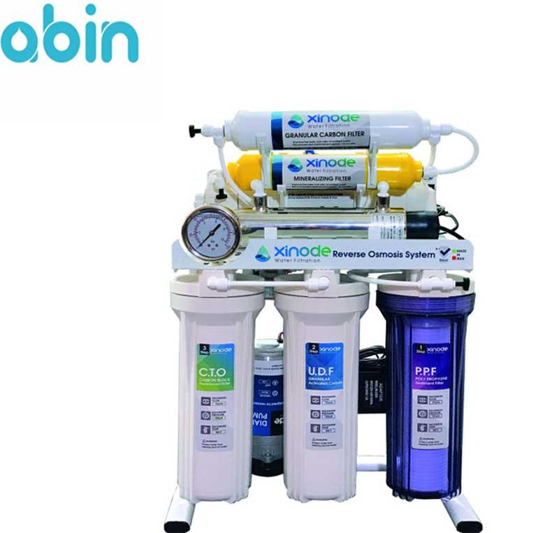 دستگاه تصفیه آب خانگی 7 مرحله ای زینود مدل 505 hb